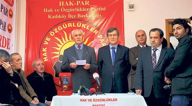 Kemal Burkay, HAK-PARda Siyaset Yapacak