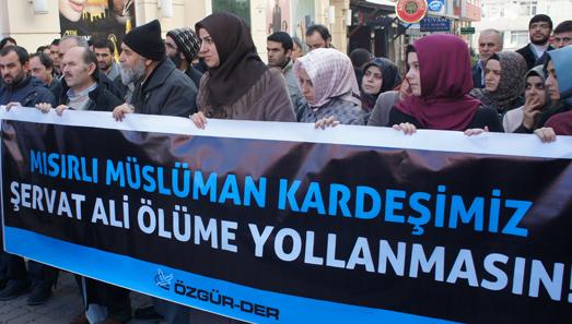 Özgür-Der: Şervat Ali Iraka Teslim Edilmesin!