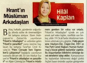 Hrantın Müslüman Arkadaşları