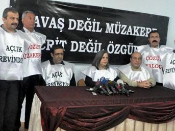 BDP'liler 2 Günlük Açlık Grevinde