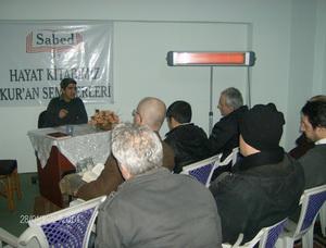 Sapanca'da Kur'an Seminerleri Devam Ediyor