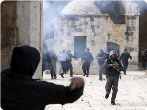 Mescidi Aksa'da Çatışmalar Çıktı