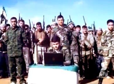 Suriyeli Kürtler Mişel Temo Birliğini Kurdu (Video)
