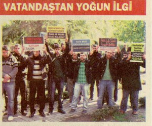 Adanada Suriye Protestosu
