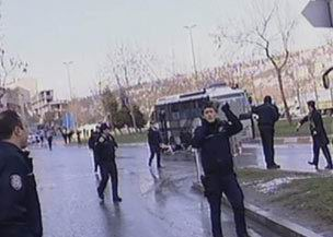 İstanbul Sütlücede Bombalı Saldırı