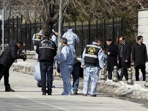 Ankarada Yargıtay Önünde Patlama