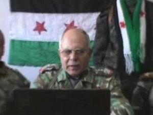 Suriyeli General Katliama Dayanamadı