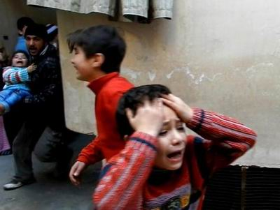 Humustaki Katliamdan Kurtulan Çocuk