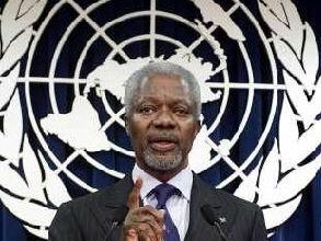 Kofi Annan Nihayet İstifa Etti