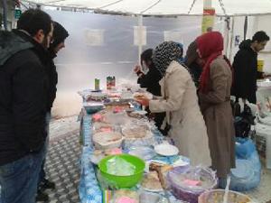 Trabzonda Suriye Halkı Yararına Kermes