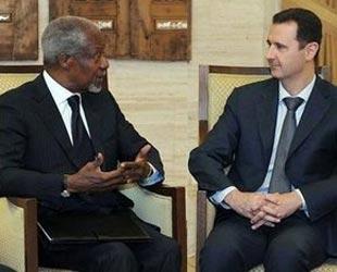 Annan, Suriyeden Eli Boş Döndü!