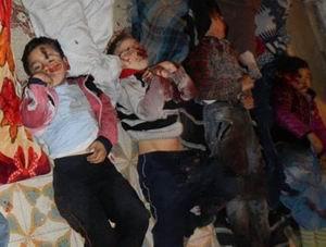 İşte Suriyedeki Katliamın Fotoğrafları