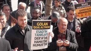 Suriye İntifadasına Isparta'dan Destek Eylemi