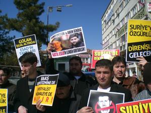 Çorumdan Suriye İntifadasına Destek