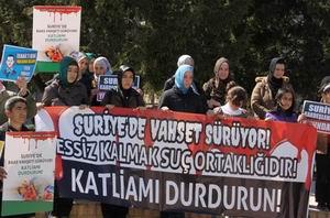 Sakarya'dan Suriye İntifadasına Destek Eylemi