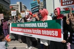 İzmirden Hamaya, Humusa, Direnişe Bin Selam!