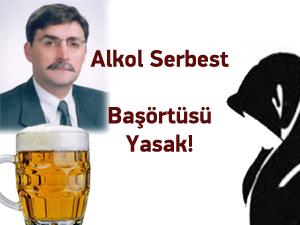 KTÜ'de Alkol Ve Başörtüsü Sorunu Yaşanıyor