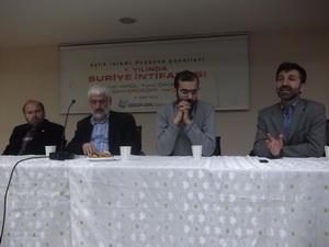 Ümraniyede Suriye İntifadası Paneli