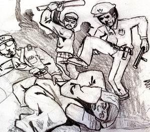 Bir Mübaşir, 8 Polisi Darp Etti (!)