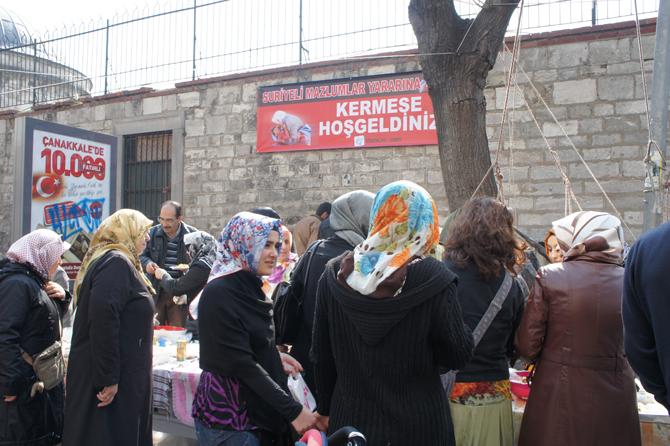 Suriye Halkı Yararına Kermes Düzenlendi