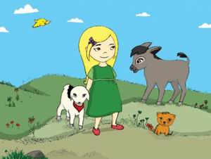 Çocuklar İçin Kürtçe Çizgi Roman: Guldexwîn
