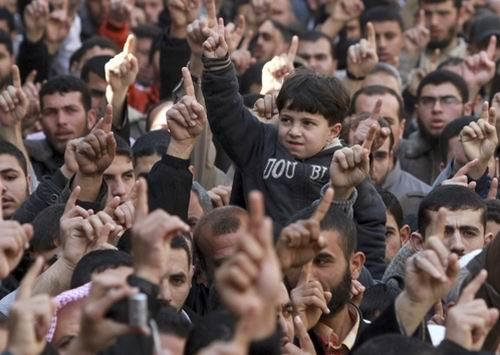 Filistin'in En Okur-Yazar Kenti Gazze