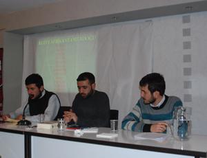 Gençler Ortadoğu ve Suriyeyi Tartışıyor
