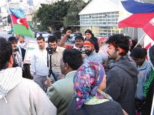 Kudüs Yürüyüşçüleri İsrail Sınırında