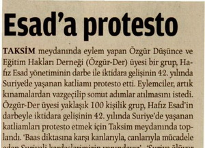 Esada Protesto