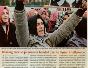 Missing Turkish Journalists Handed Over To Syrian Intelligence