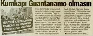 Kumkapı Guantanamo Olmasın