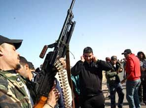 Libya Güvenlik Güçleri Milislerle Çatıştı