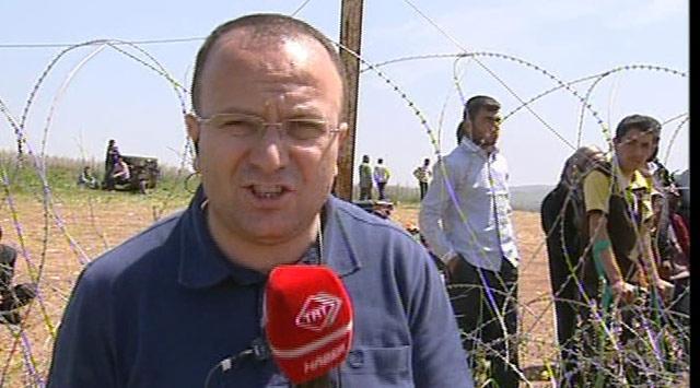 TRT Haber Ekibi Suriye Sınırını Geçti