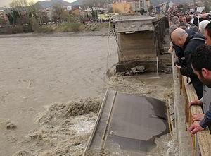 Zonguldak Çaycumada Köprü Faciası