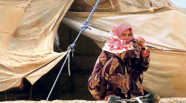 Ürdünde 100 Bin Suriyeli Mülteci Var!