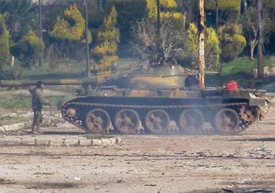Muhaliflerin Tankları Ele Geçirdiği Anlar (VİDEO)
