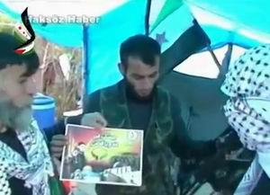 Filistinli Müslümanlardan Hür Orduya Destek