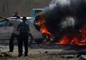 Irak Güne Yine Bombalarla Başladı
