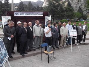 Amasya'da Suriye Katliamı Sergisi Açıldı