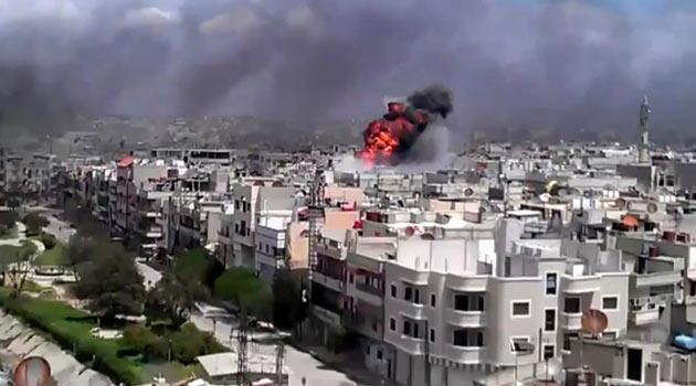 Suriyede Dün 22 Kişi Daha Katledildi (Video)