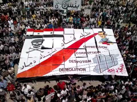 Suriye Halkı Meydanları Boş Bırakmadı! (Video)