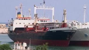 Suriyeye Silah Taşıyan Gemiye El Kondu