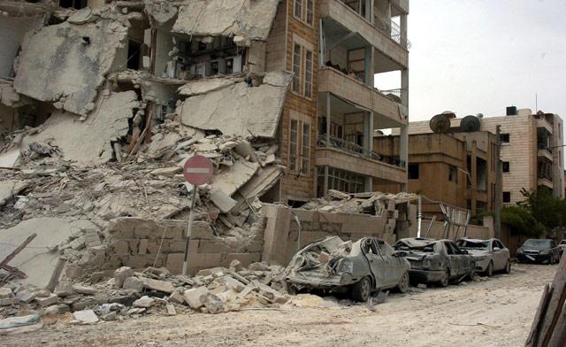 Suriyede Devlet Kurumlarına Bombalı Saldırı