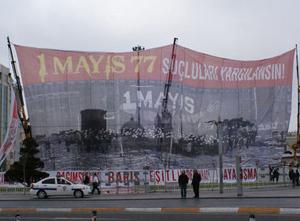 1 Mayısta Farklı Meydanlardaki Gösteriler