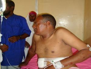 Ağır Yaralı Gazeteciye İHH Sahip Çıktı