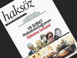 Haksöz Dergisi Mayıs Sayısı Çıktı!