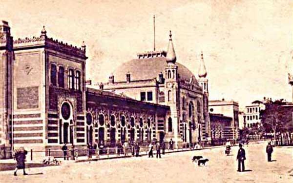Merzifonlu Karamustafa Camii Gazino Yapılmış