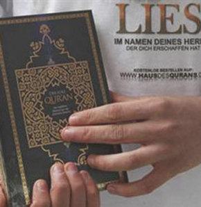 Almanya'da Dağıtılan Kur'an Değil, İncil Olsaydı!