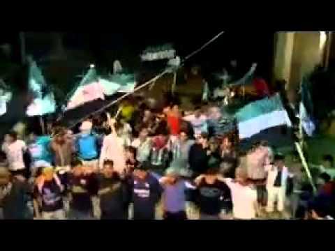 Suriye'de Halk Meydanlardaydı (Video)