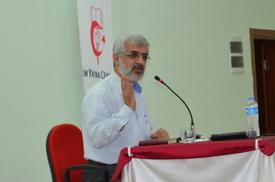 R. Kayan, Pamukkale Ü. Öğrencilerine Konuştu